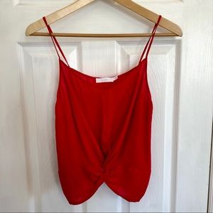 Lush   Cropped Red Tank Top   Nordstrom   S